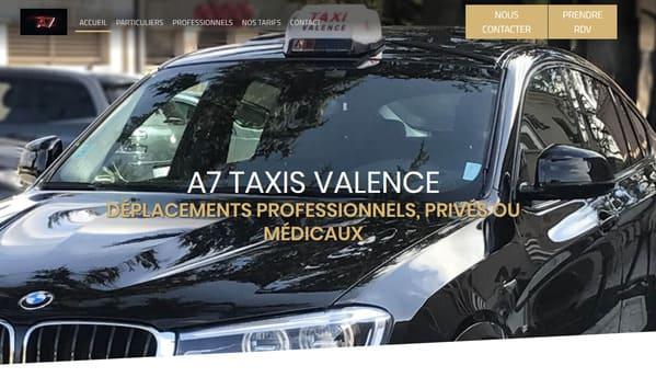 Taxi Valence TGV